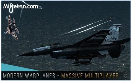 Game Pesawat Jet Tempur Android Modern Warplanes Mod Apk
