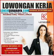 Bursa Kerja Surabaya di Lapakurir Oktober 2020