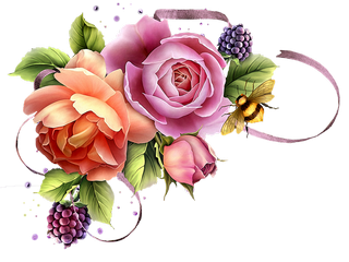 flower clusters clipart 1