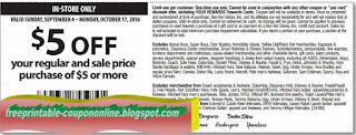 Free Printable Carson Pirie Scott Coupons