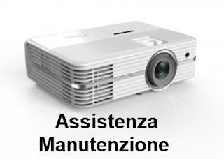 Manutenzione videoproiettori