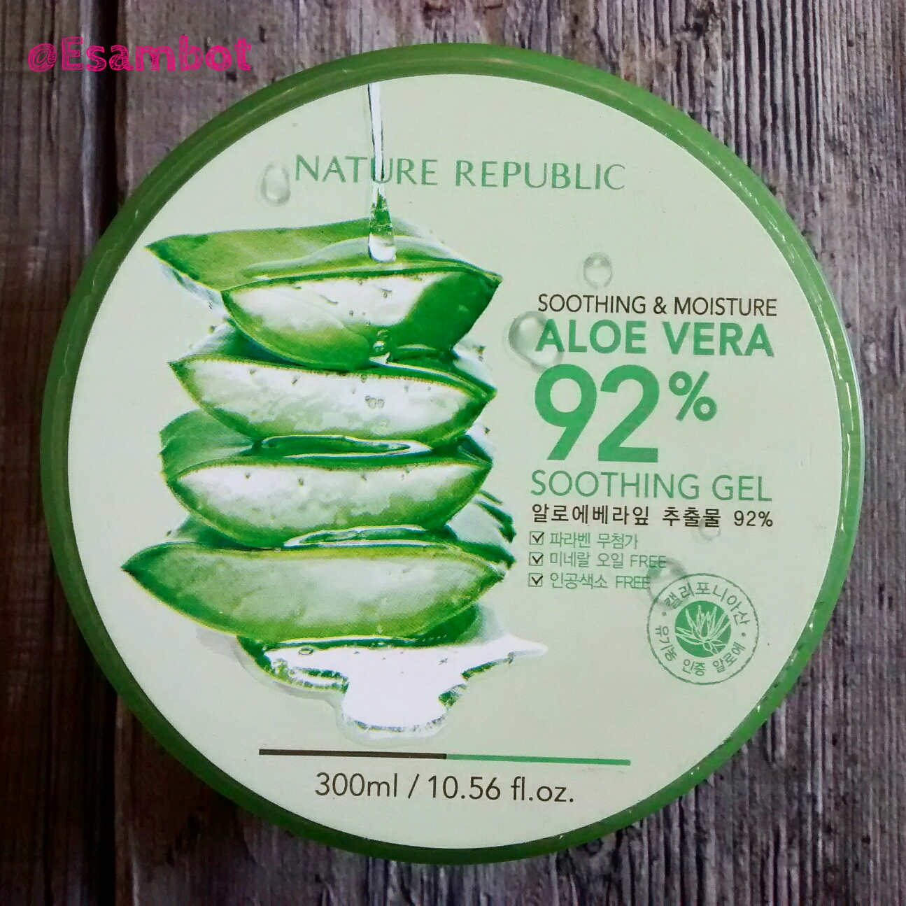 Nature republic soothing and moisture aloe vera 92 soothing gel 300ml - Product Review Aloe Vera Soothing Gel 92 By Nature Republic