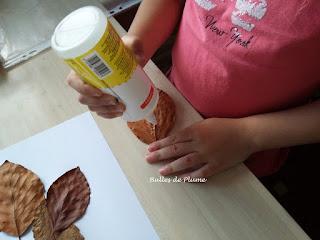 Bulles de Plume - DIY Animaux en Feuilles d'automne