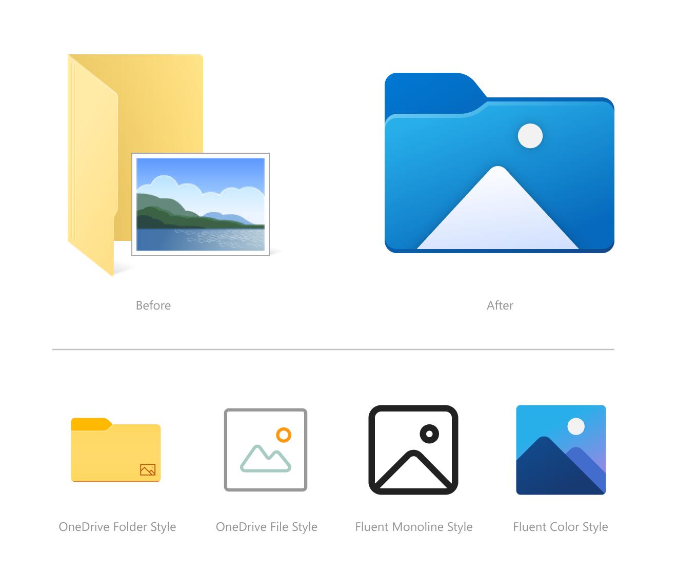 Ecco le nuove icone di Sistema in Windows 10
