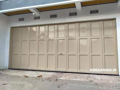 Mau Buat Pintu Garasi Besi? Ini dia Jasa Pintu Garasi Besi di Klaten, Jogja dan Solo Terbaik