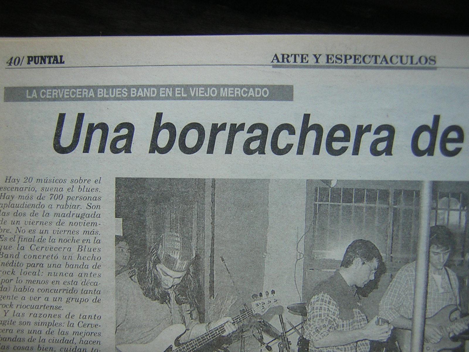 Proyecto Rock Río Cuarto: La Cervecera Blues Band \