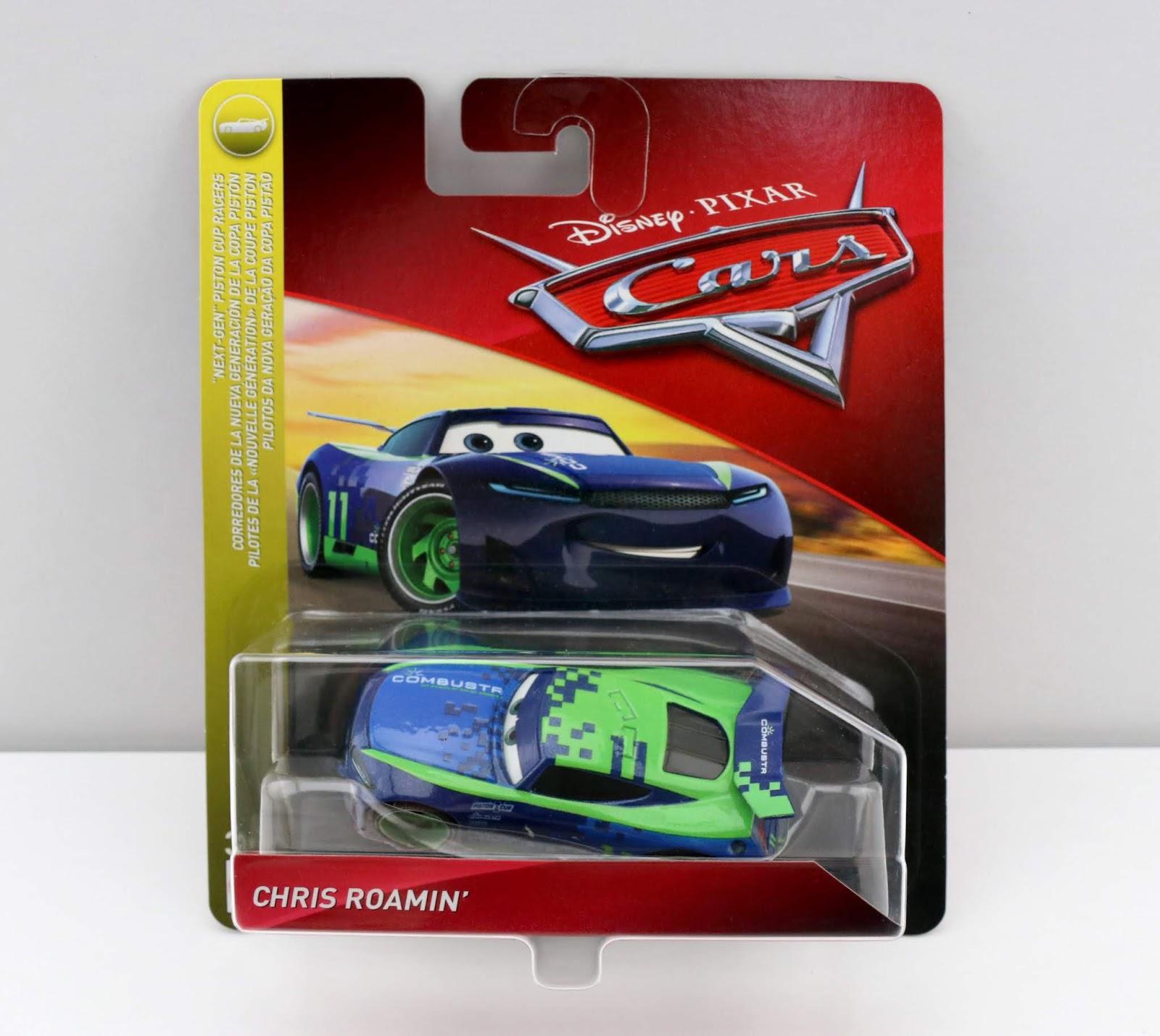 Cars 3 Chris Roamin' diecast review