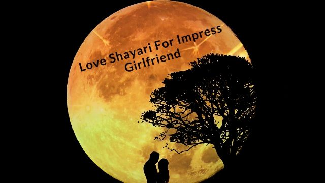 Love Shayari in Hindi For Impress Girlfriend - Love Poems