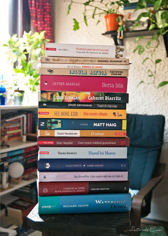 listă cu cărți de citit