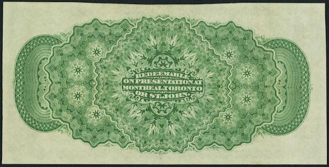 Dominion of Canada 25 Cents Shinplaster Banknote 1870