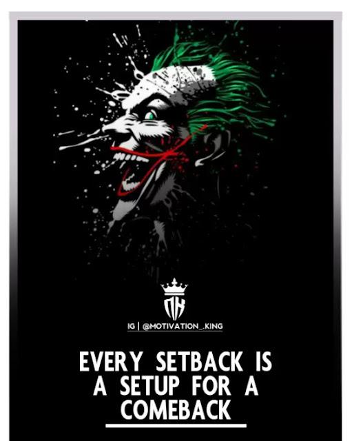 Attitude joker quote why so serious