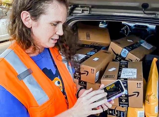 कैसा Amazon Flex के द्वारा आसानी से ऑनलाइन कमाई की जा रही  है।