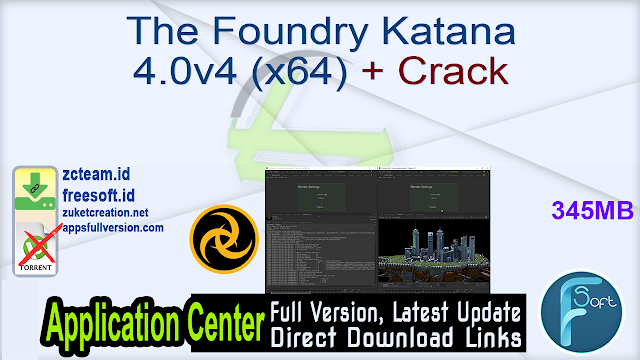 The Foundry Katana 4.0v4 (x64) + Crack