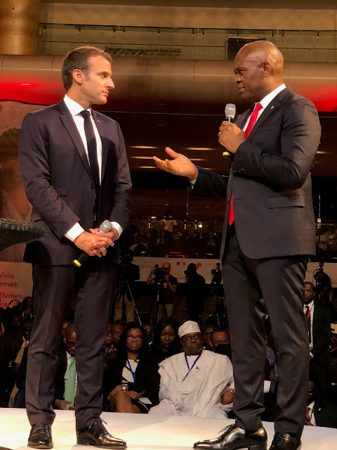 MACRON TO LAGOS, AFRICA TO THE WORLD!!