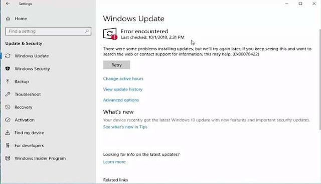 الاداة الجبارة لغلق وفتح تحديثات الويندوز وبرامج الحماية المدمجة بالويندوز 3