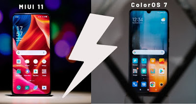What's Second Different? Color OS 7 Vs Color OS 11