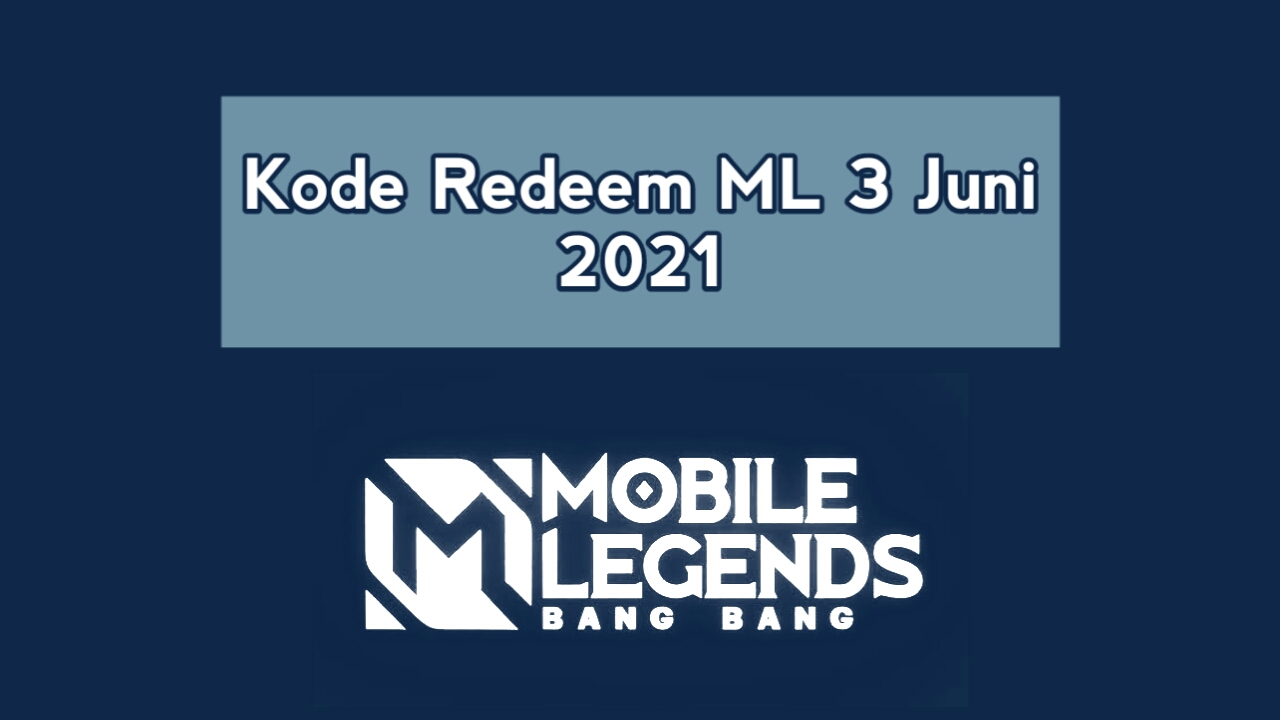 ML Redemption Code June 3, 2021 Not used today