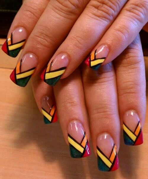 funky nail art - fashiontrends4everybody