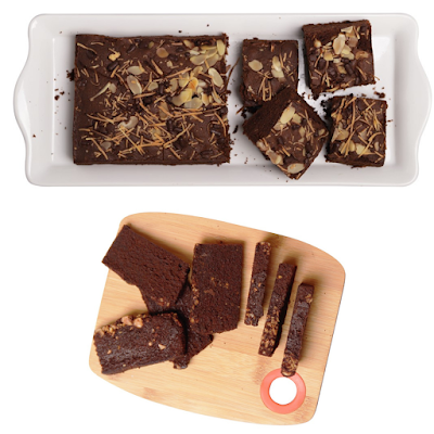 Amanda Brownies Bakar dan Brownies Kering