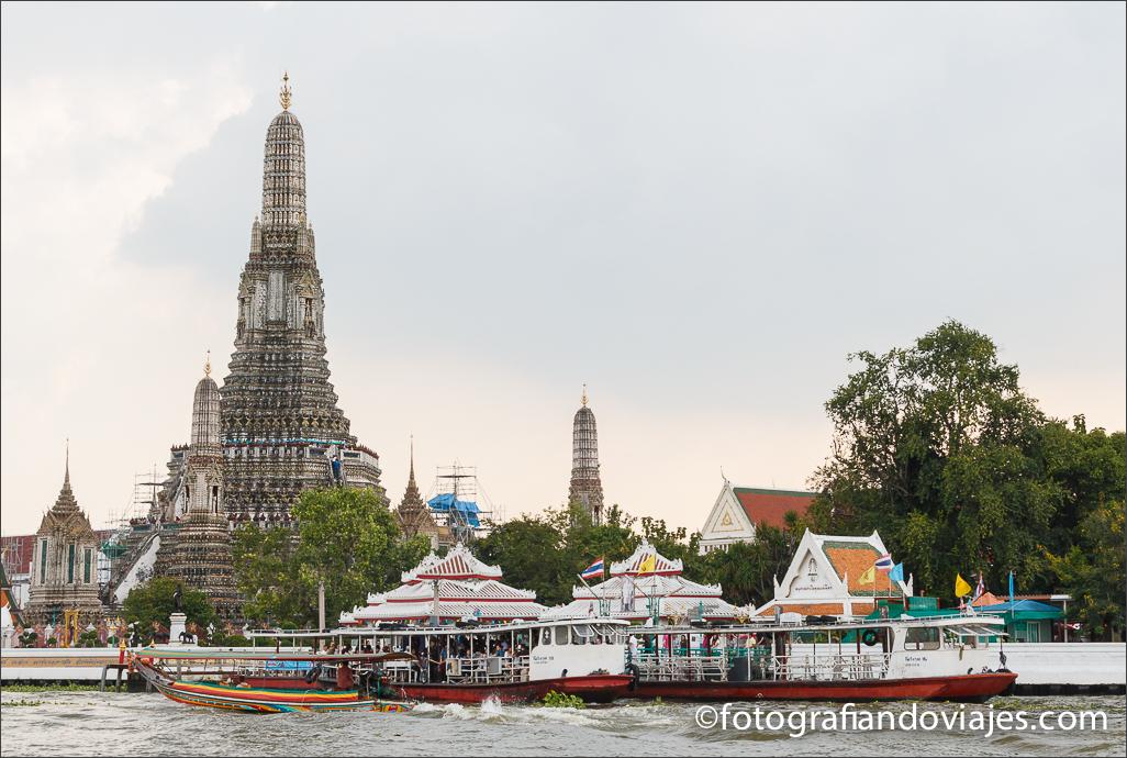 Wat Arun, wat Chaeng o templo del amanecer de Bangkok