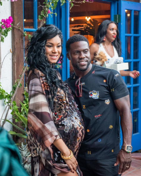 """I'm lucky enough to still be calling (you) my wife today"" – Kevin Hart gushes over Eniko"