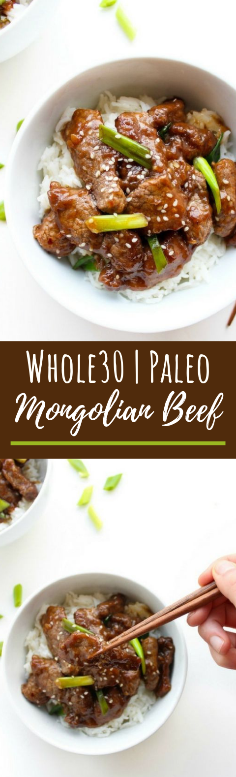 Paleo Mongolian Beef #whole30 #glutenfree