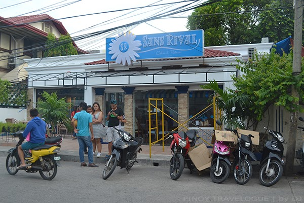 Sans Rival Cakes and Pastries store in Dumaguete
