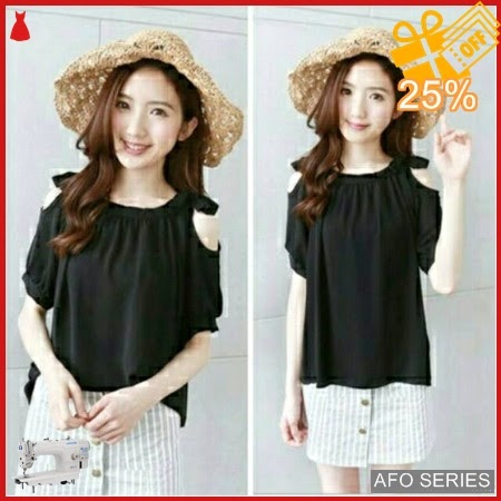 AFO639 Model Fashion Blouse Belinda LD 100 Modis Murah BMGShop