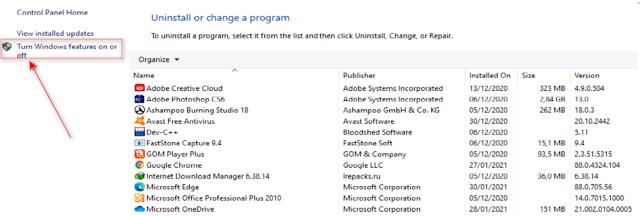 Sanboxie Windows 10