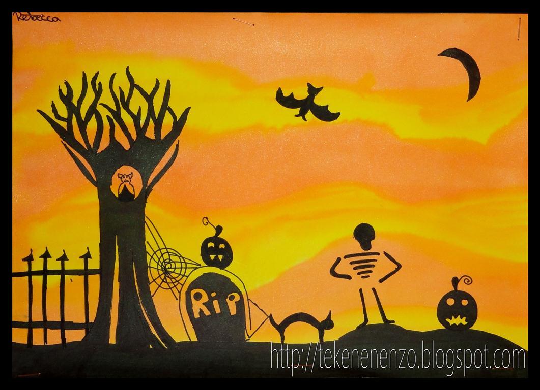 Tekenen En Zo Halloween.Tekenen En Zo Halloween Scene