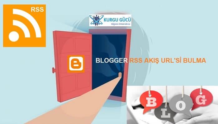 Blogger RSS Akışı URL'si Bulma - Kurgu Gücü