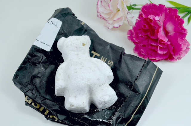 Lush - butter bear - scented - bath products - review - fragranced bath products - body skincare