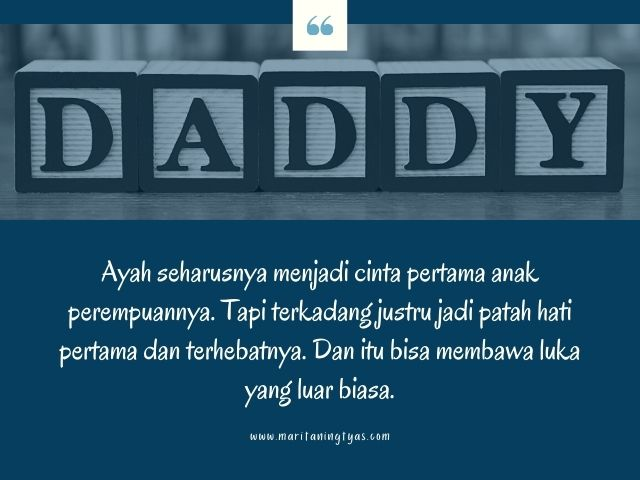 quote daddy issue