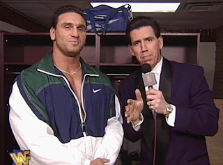 WWF / WWE - Wrestlemania 13 - Ken Shamrock interviewed by Todd Pettengill
