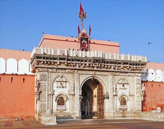 Candi Karni Mata, Kuil Tikus Di India