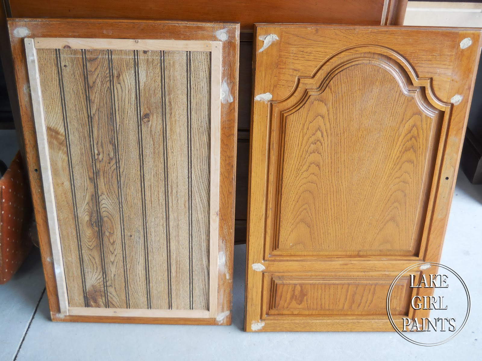 how to make kitchen cabinet doors designer online lake girl paints old entertainment center gets beadboard