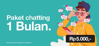 Paket Chat 3 Termurah 2020
