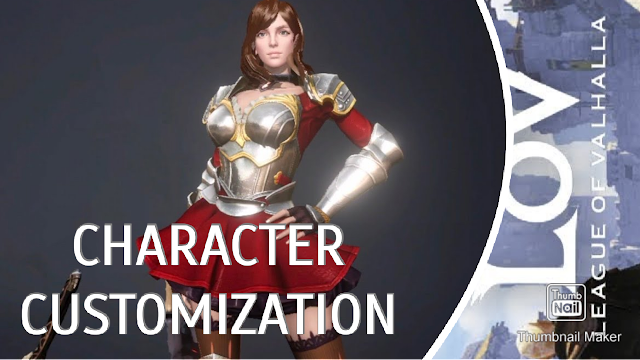 Let's Play League of Valhalla 🎮 Shadowdancer Character Customization