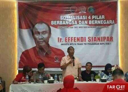 Effendi Sianipar : Cepat Atasi Kebakaran Hutan, Bukti Jokowi Peduli Wong Cilik