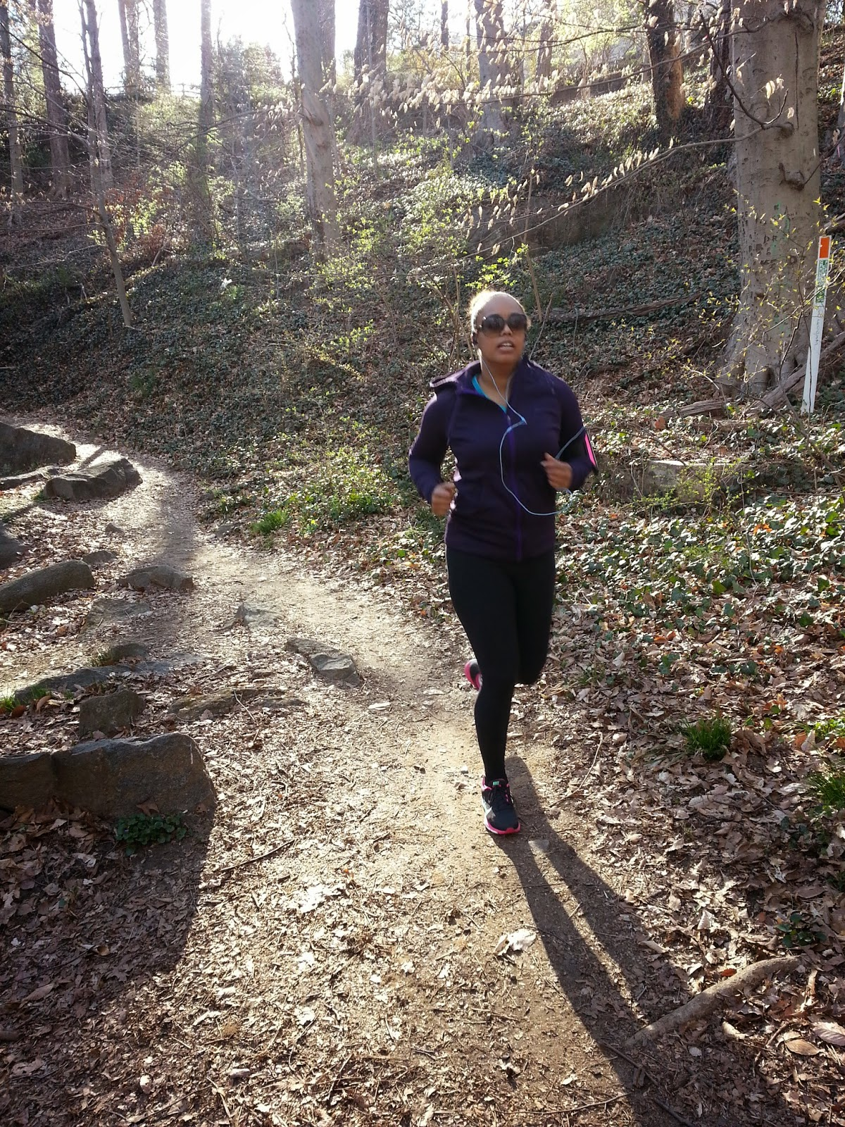Sligo Creek trail run