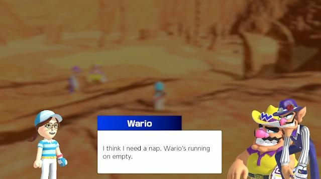 Mario Gofl Super Rush Wario needs a nap Nintendo Treehouse Live E3 2021