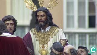 Sagrada Cena entrando en la SI Catedral. Semana Santa Cádiz 2019