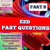 EED Past questions for ND 2 (National Diploma)