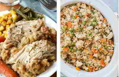 Recipe for chicken in a crockpot crockpot with chicken
