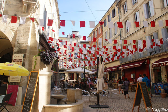 Il bel centro medievale di Sommieres