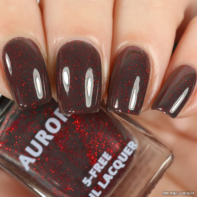 Aurora Nail Lacquer-Mr. Grey Will See You Now