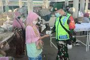 Kodim, Polres, Dishub dan Satpol PP Klaten Lakukan Sosialisasi Penegakan New Normal