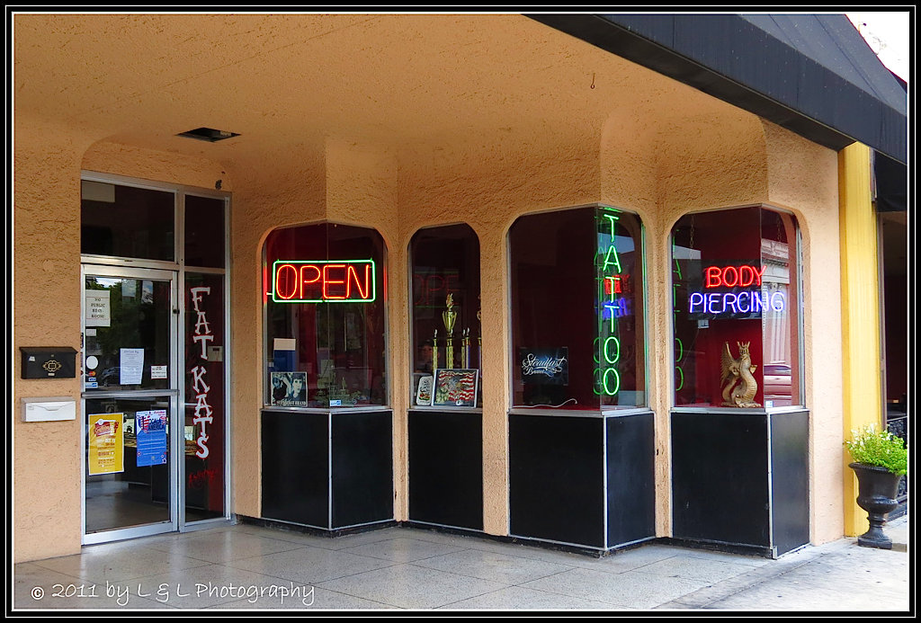 Ocala central florida beyond fat kats downtown ocala for Tattoo shops in ocala