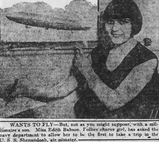 Edith Babson 1924