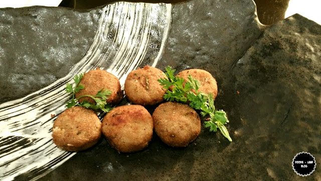 Balakkai Vada @ Cuisine of Vijayanagara @ Cubbon Pavilion | ITC Gardenia | Bangalore